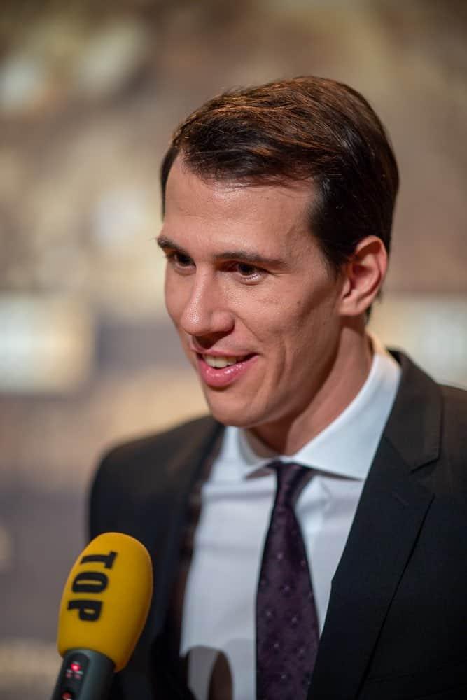 Ramon Zenhäusern at Swiss Sports Awards 2019