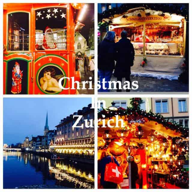 Christmas in Zurich in Photos