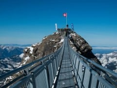 The Peak Walk by Tissot – Switzerland's Hanging Mountain Bridge