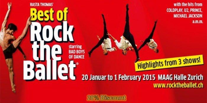 Best of Rock the Ballet