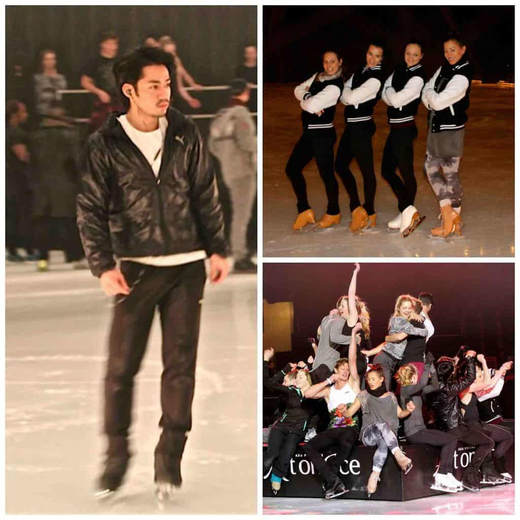Art on Ice rehearsals 2015