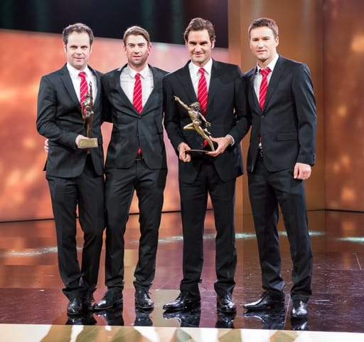 Davis Cup Team at Swiss Sports Awards