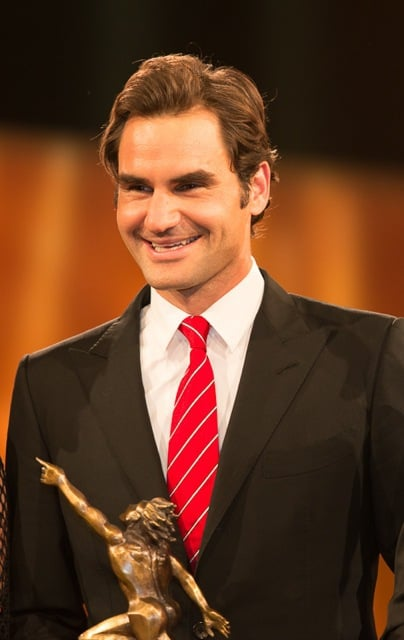 Roger Federer wins Swiss Sports Awards