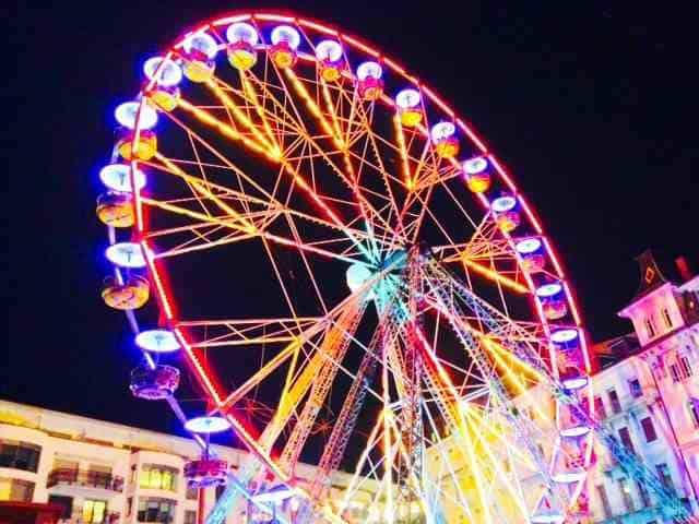 Ferris wheel at Montreux