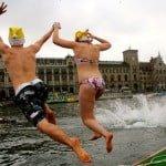 Samichlaus-Schwimmen 2014 in Photos