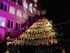 Zurich's Singing Christmas Tree