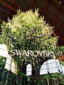 Swarovski Christmas Tree Zurich