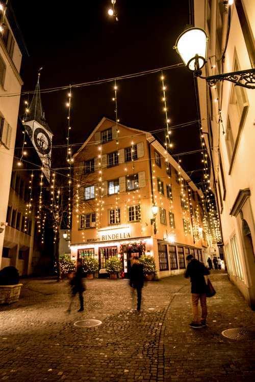 Zurich by Night 2 Lorenzo Borghi