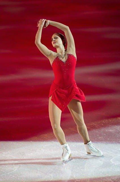 Sarah Meier Swiss ice skater