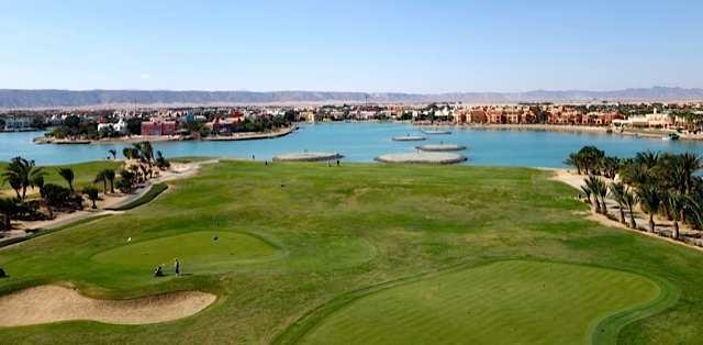 Golfing in Egypt