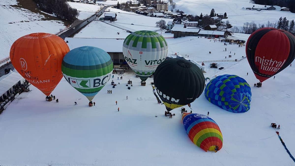 Chateau d'lex Balloon Festival 2017
