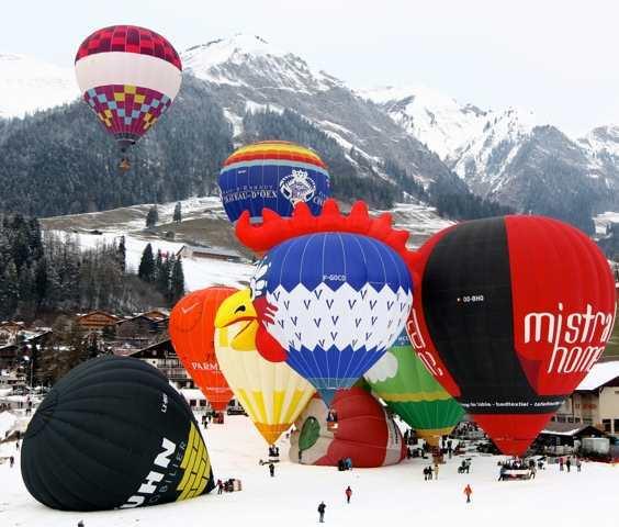 Chateau d'Oex Balloon Festival
