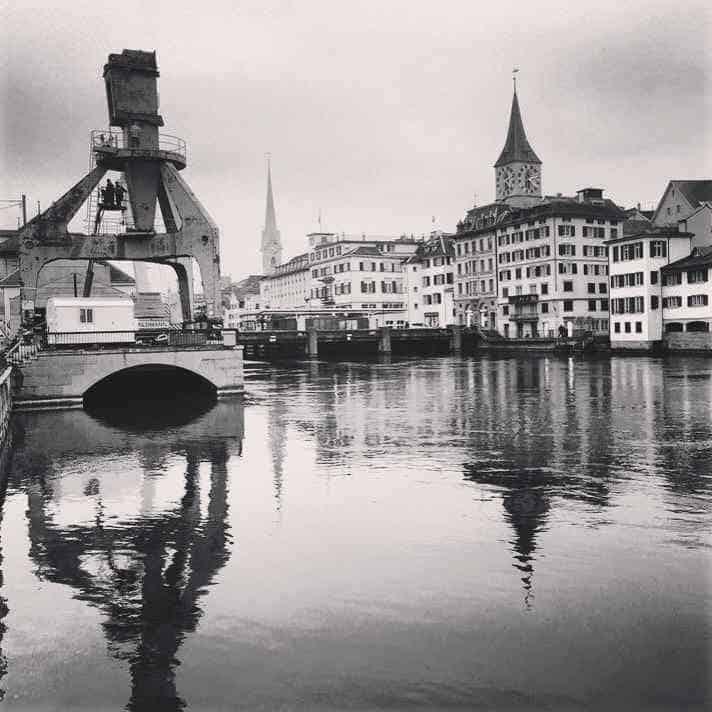 Hafenkrane Zurich © NewInZurich