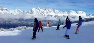 Skiing in Flumserberg © NewInZurich