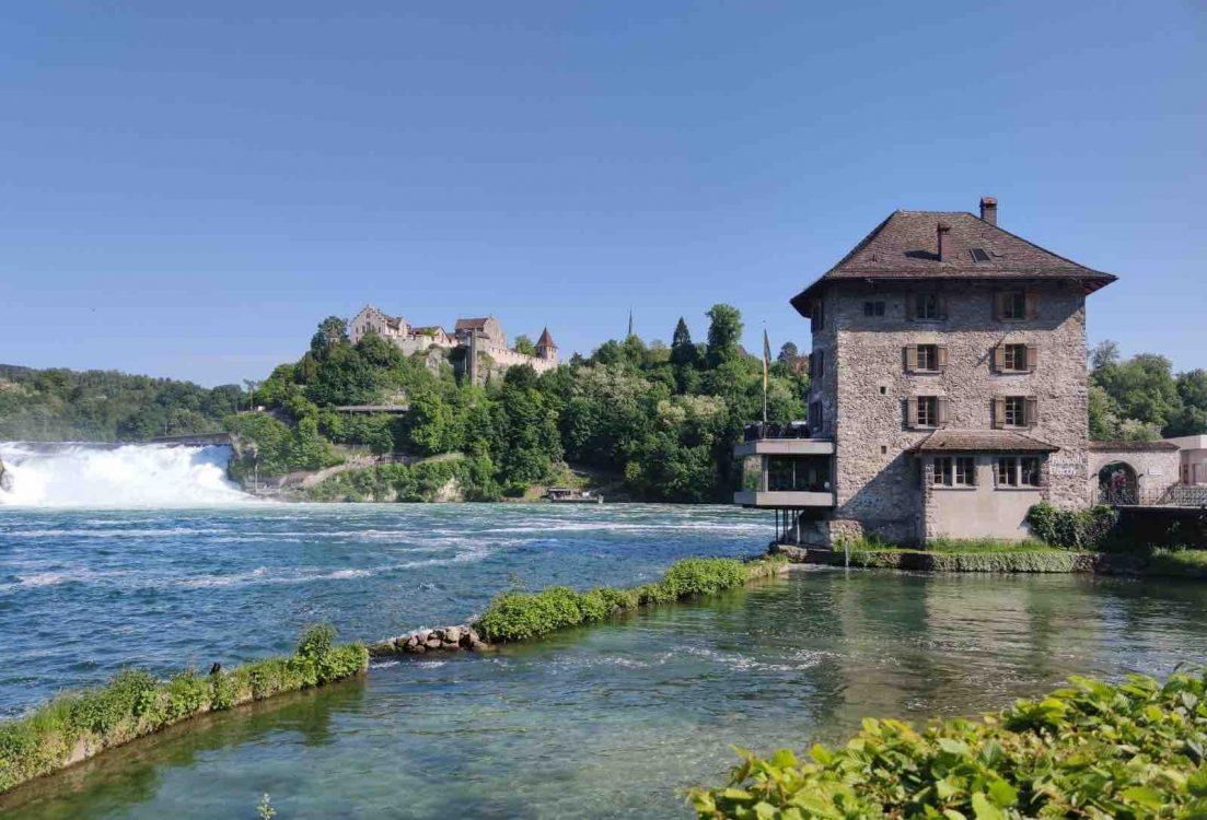 Schlössli Wörth Rhine Falls