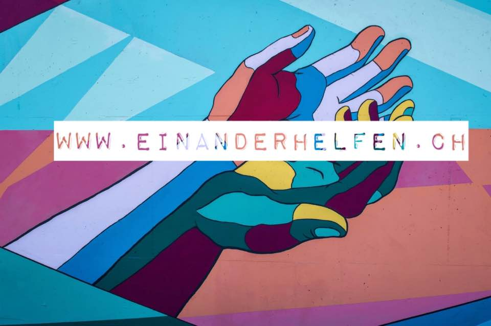 Einanderhelfen - How To Help Others in Times of COVID-19