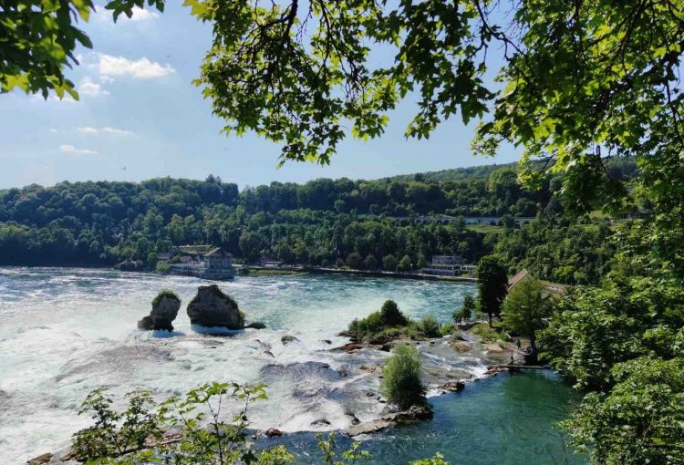 A Short and Scenic Hike Along The Rhine Falls