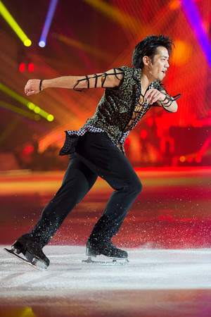 Daesuko Takahashi at Art on Ice 2015