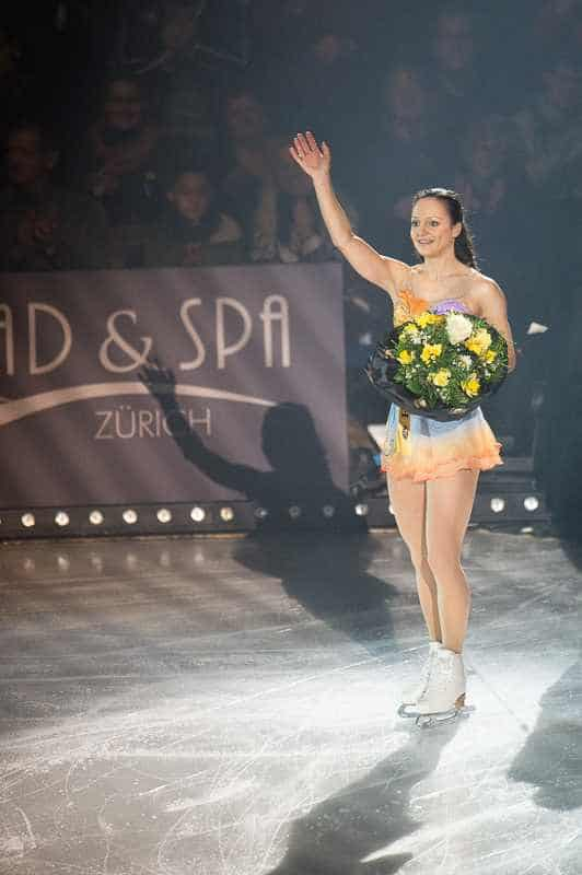 Sarah Meier Art On Ice 2015 © Geoff Pegler