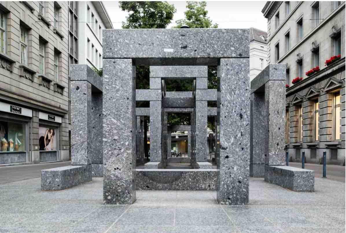 Max Bill Pavillon Skulptur Zurich
