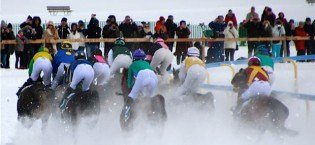 Glamour, Racing and Snow – White Turf St Moritz
