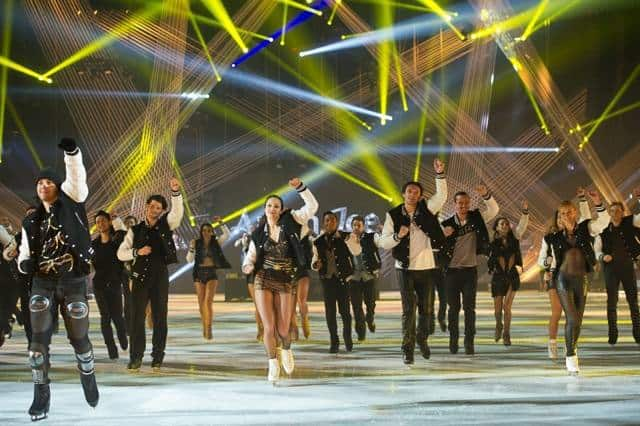 Ice Galmour and talent - art on ice 2015