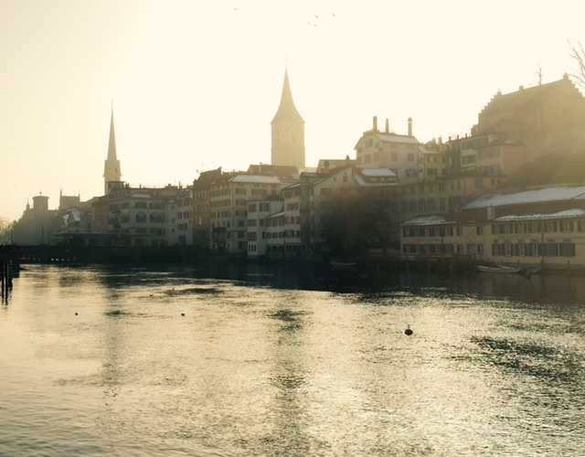 Zurich in the Winter