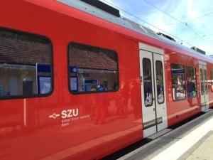 S10 train to Uetliberg