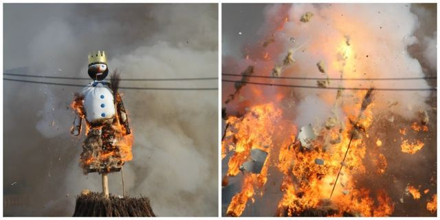 Sechselaeuten 2015 and Burning of the Boogg