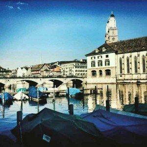 Zurich in the sun