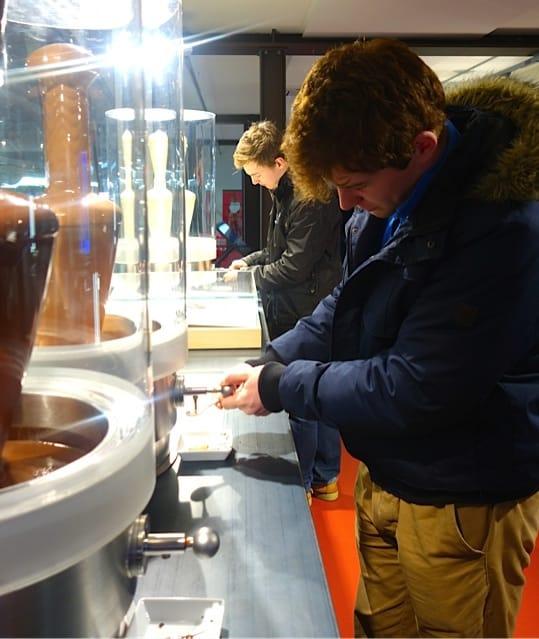 Läderach chocolate factory visit