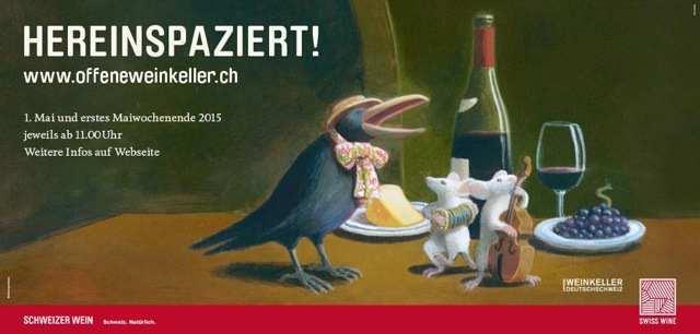 Day of Open Cellars in Switzerland