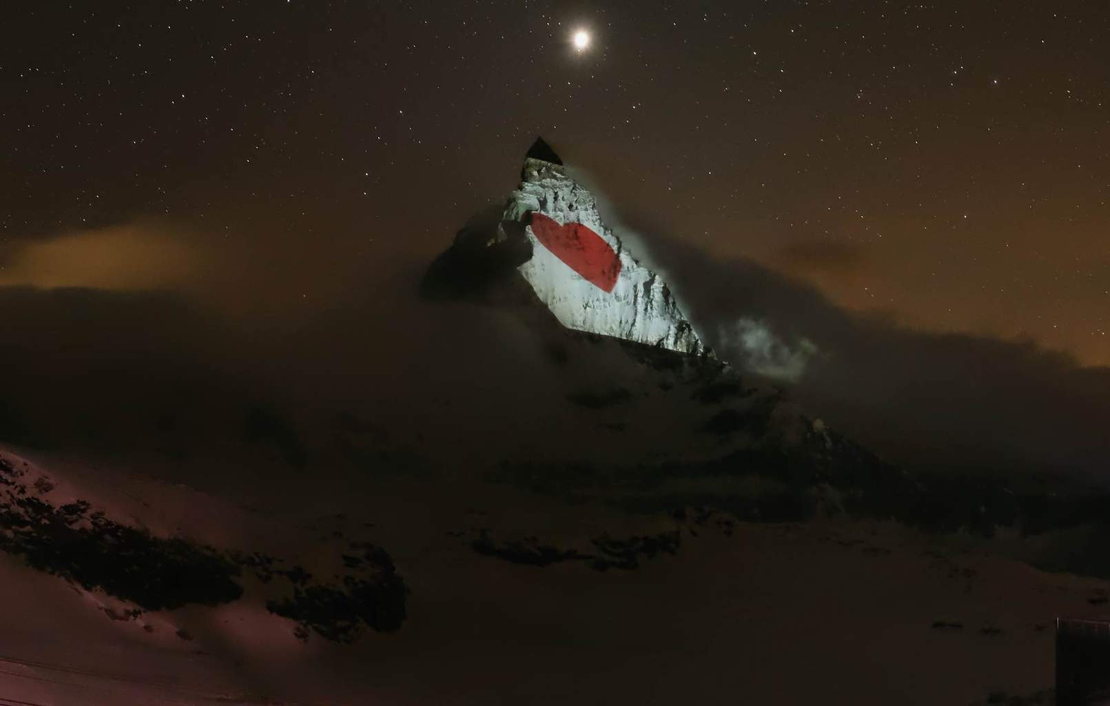 Messages of Hope on the Matterhorn Mountain