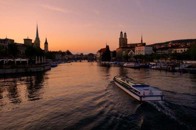 Zurich Spring eve