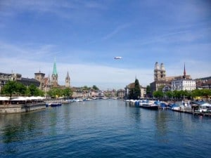Zurich in the Spring