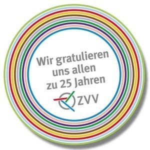 25 years jubilee of ZVV in Zurich