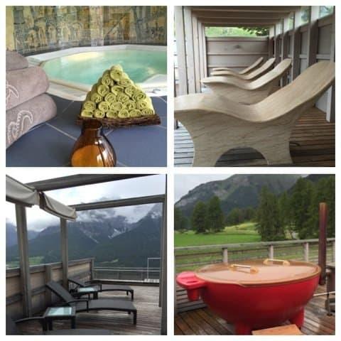 Hotel Paradies Ftan Spa