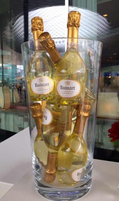 Ruinart champagne at Art Basel