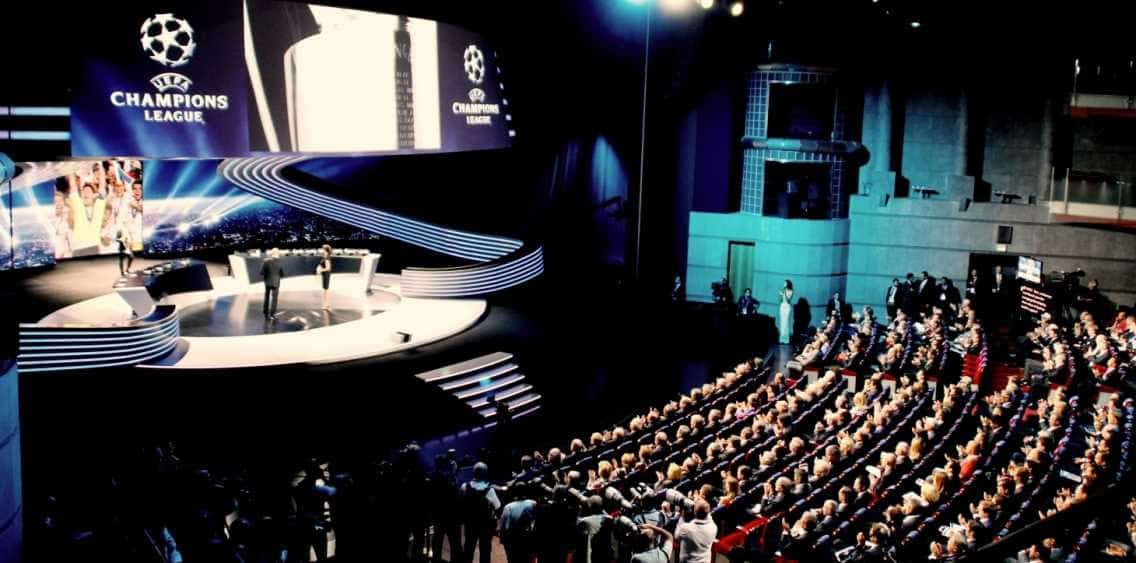 UEFA Football Prize Draw in Monte Carlo