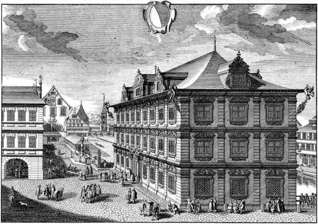 Rathaus Zuerich 1780