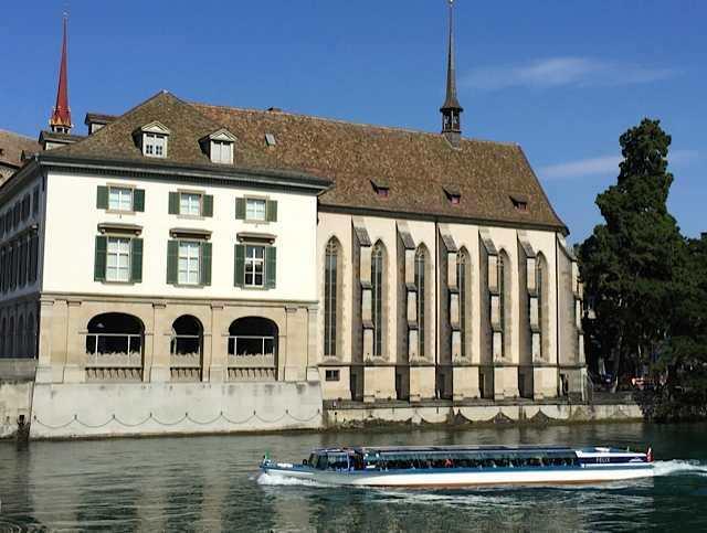 Wasserkirche Zurich