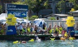 Photos of the Limmat Swim 2015