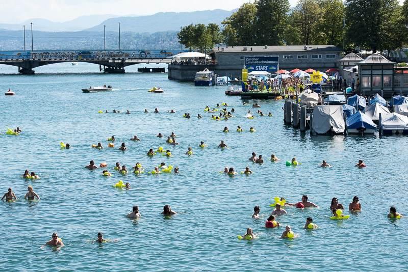 Fotos Limmatschwimmen Zurich 2015