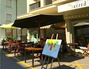 Sacred vegan restaurant Zurich