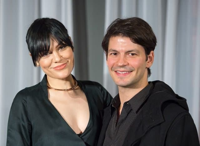 JessieJ and Stéphane Lambiel