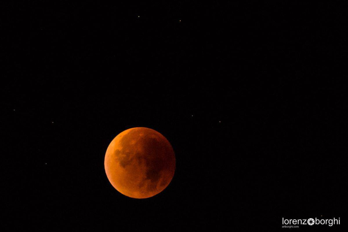 Total Eclipse of the Moon Zurich