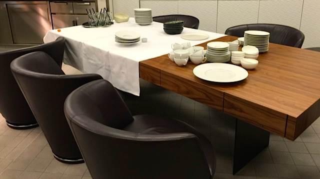 chefs table at Park Hotel Vitznau