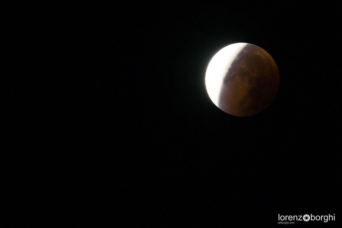 Total Eclipse of the Moon in Zurich