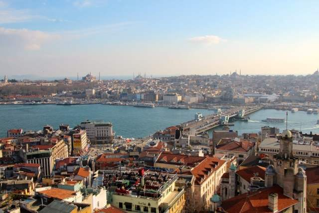 Istanbul from the rooftops