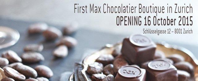 Max Chocolatier Boutique in Zurich